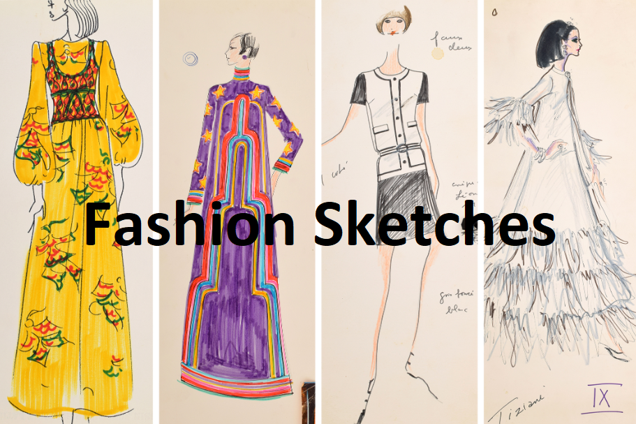 Fashion Sketches For Fashion Designing Get Fashion